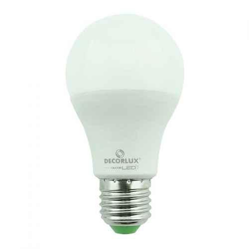 Lâmpada super LED bulbo 4,9 W amarela Decorlux