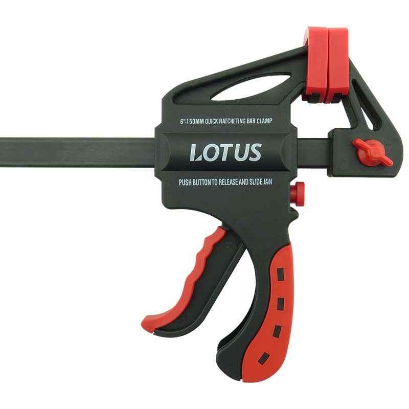 """Grampo sargento c/ gatilho automático 6"""" Lotus"""