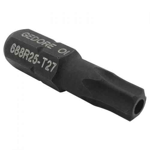"""Bits torx T27 com guia Gedore encaixe 1/4"""" 688R25"""