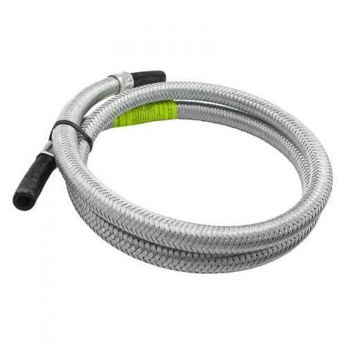 Ligação flexível p/ gás malha de aço 3/8 x 2 metros