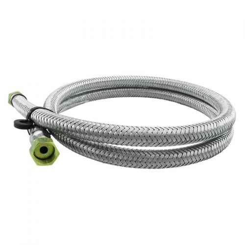 Ligação flexível p/ gás malha de aço 1/2 x 2 metros
