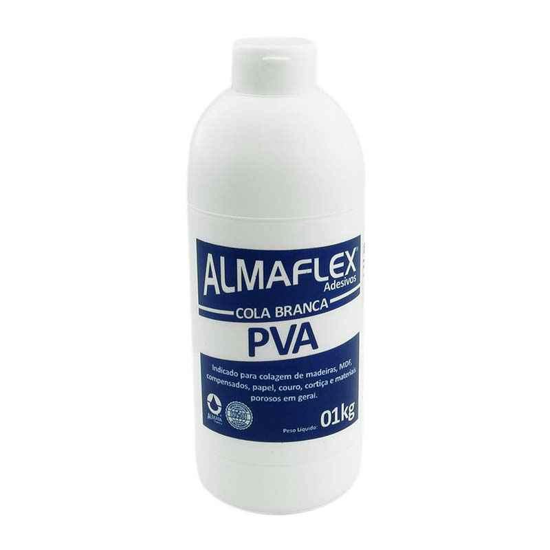 Cola branca PVA Almaflex 1 Kg