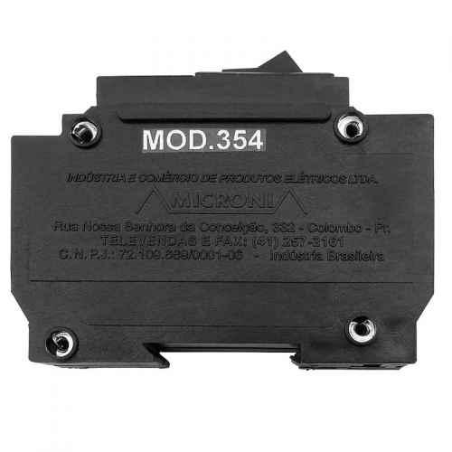 Minuteria eletrônica disjuntor Microni Mod. 354