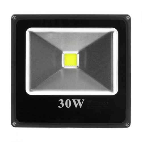 Refletor / Holofote LED 30W bivolt branco 6000K
