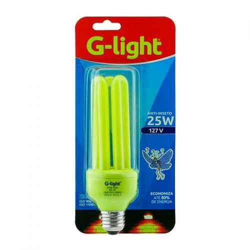 Lâmpada anti-insetos 25w 127v G-light
