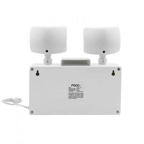 Luminária de Emergência Led 960 Lumens - Foco
