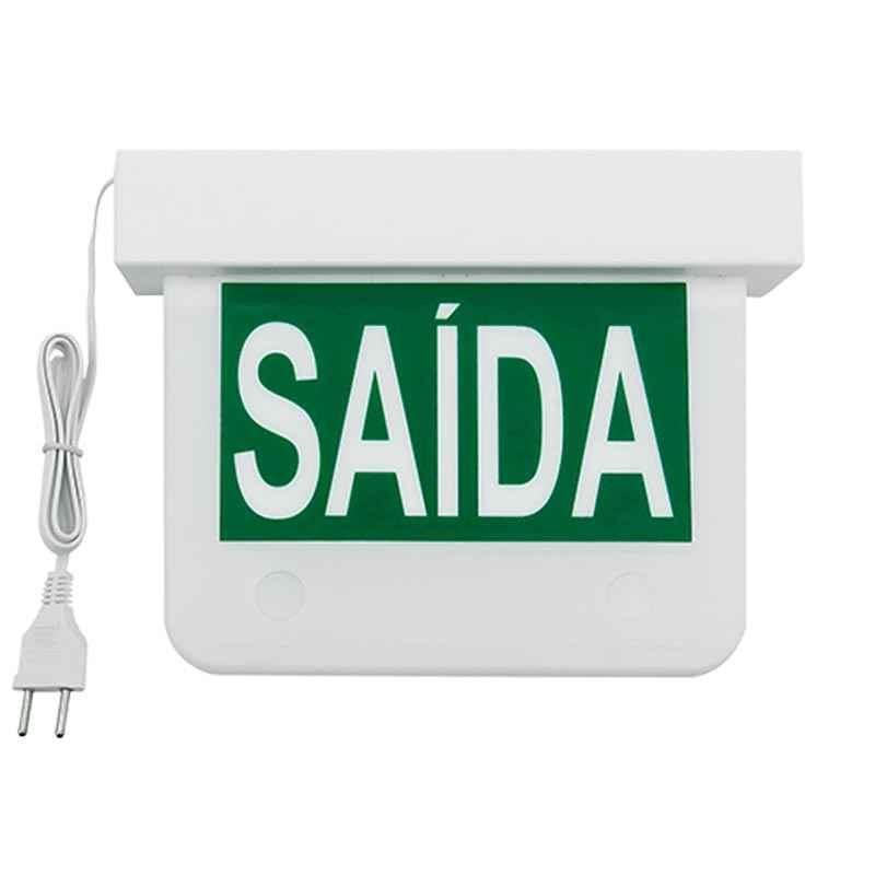Placa balizadora de Sinalização Led Equipel - VERDE
