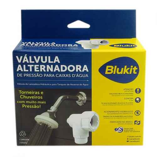 Válvula alternadora de pressão p/ caixa d' água Blukit