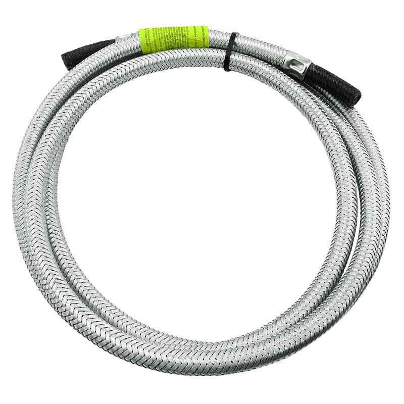 Ligação flexível p/ gás malha de aço 3/8 x 2,5 metros