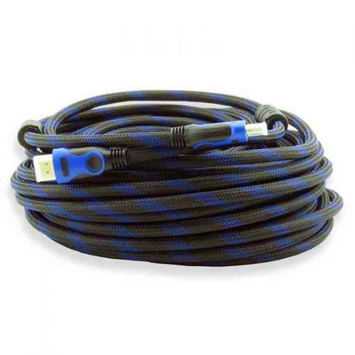 Cabo HDMI 1.4 com malha e filtro 20 metros.