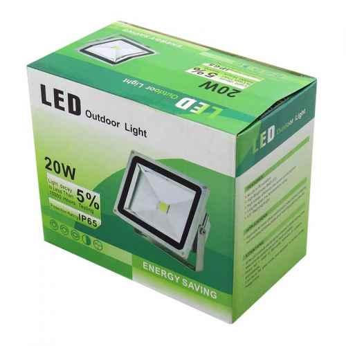 Refletor Led 20W Outdoor Light - GBRTECH