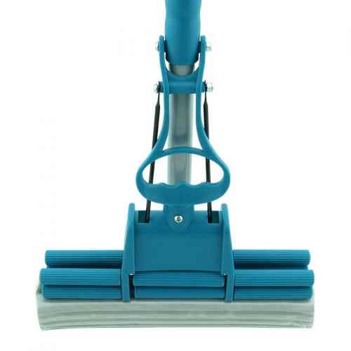 Mop rodo cabo telescópico Limpeza Geral Plus.