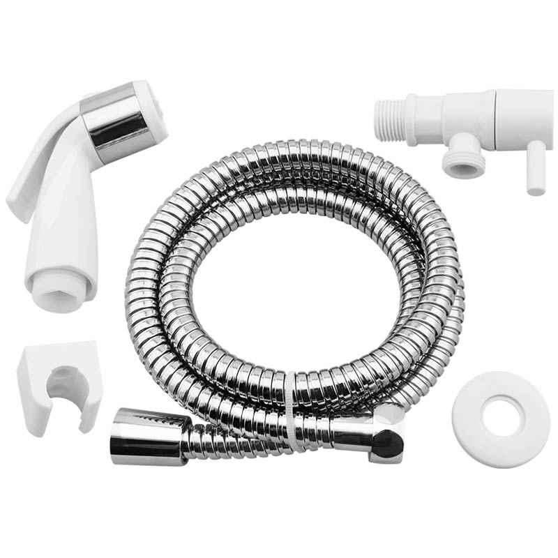 Ducha higiênica conjunto completo ABS e Aço inox