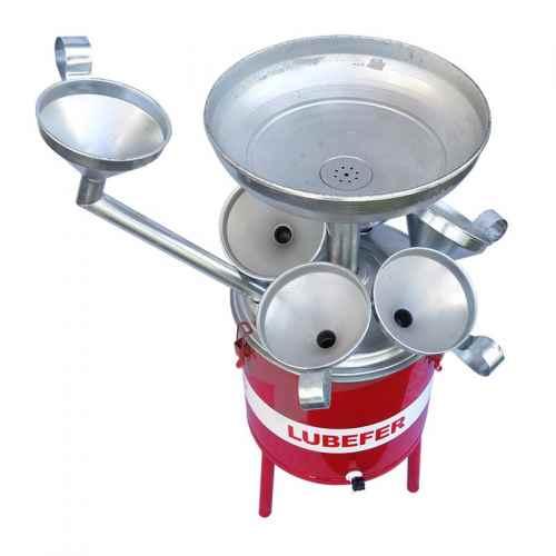 Pingadeira de óleo Lubefer 25 litros 6 funis
