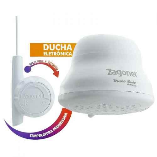 Ducha Zagonel master banho eletrônica 127V